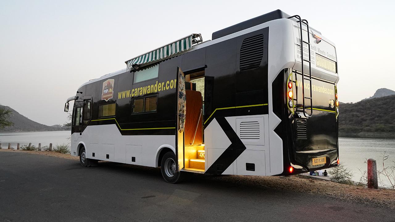 luxury caravan for rent