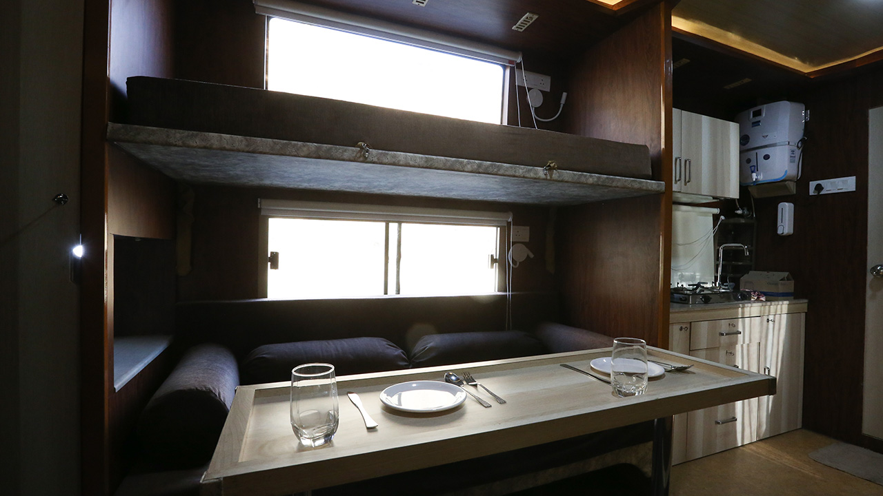 Fully Furnished Caravan for Rent in India