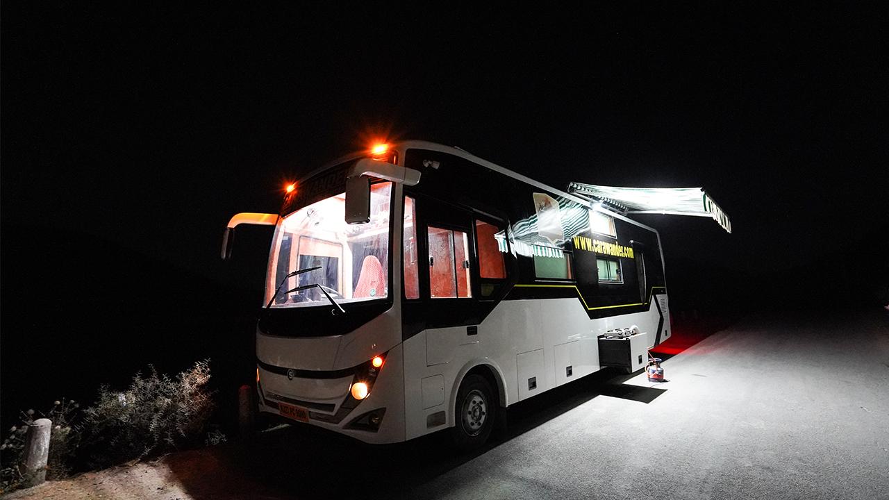 luxury camping vans